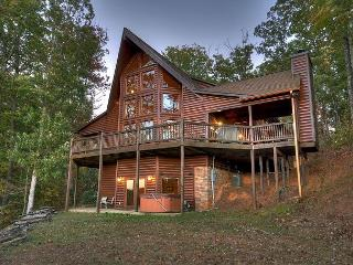 Breathtaking Mountain Home with Amazing Long Range Views of the Cohutta Mtns