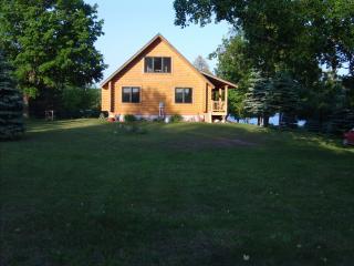 Log home on the Lake.