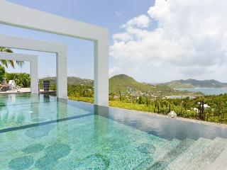 Amazing private villa located on the hillside of Camaruche WV AGA, St. Barthelemy