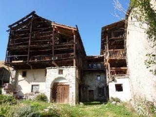Caset du Queyras - Bâtisse du XVIII ème siècle