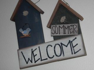 nous vous souhaitons la bienvenue dans notre gîte !