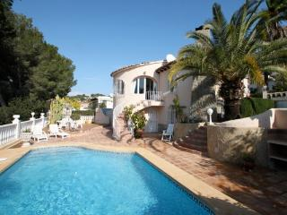 Pia villa with nice panorama views in Benissa