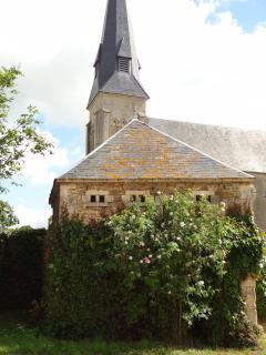 le pigeonnier et l'église