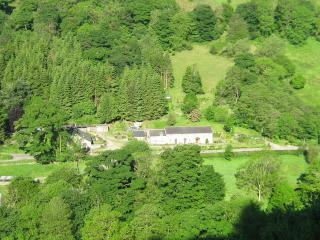 Erw Gerrig cottage. In the Ceiriog Valley
