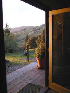Woodhaven cottage entrance