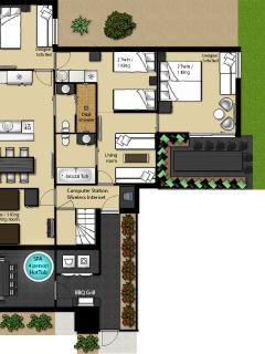 Floor plans Calcavecchia & Mickelson Suites