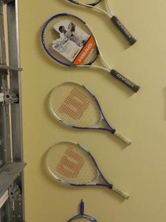 Tennis and racquet ball for our guests