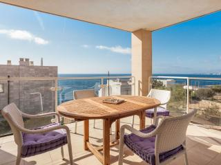 Beautiful views apartment in Cala Figuera