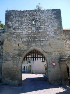 Porte d'Aurose avec sa herse