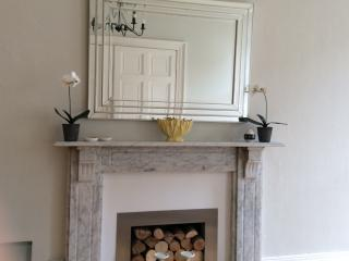 Original marble fire surround