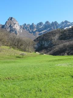 Prati nella localià di Neguggio, greens Neguggio site