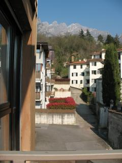 Vista dal balcone, view from the balcony