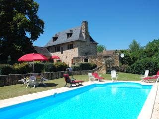Les Charmes de Grèzes with private heated pool, Terrasson-Lavilledieu