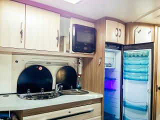beautiful caravan on amazing beach, Eilat