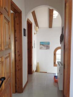 The house is typically Spanish with a modern interior and new furnishings
