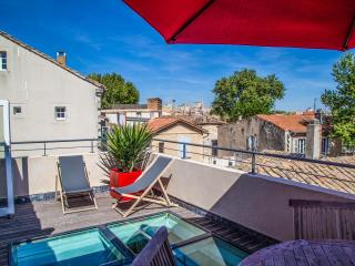 Appartement + terrasse Avignon intramuros