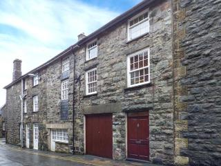 BRYN MEIRION BACH, converted old mill warehouse, exposed beams and old mill