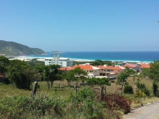 Floripa com maravilhosa vista da praia do Santinho, Florianopolis