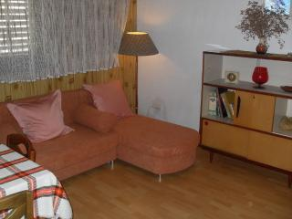Comfortable apartment with a new veranda, Rab Town