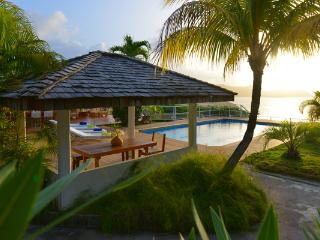 Very private and spectacular villa with excellent views of Lorient WV CAR, St. Barthelemy