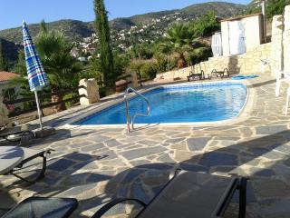 Sunset villa  with private pool, Paphos