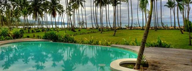 Luxurious oceanfront villa, Las Terrenas