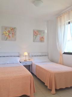 this is the second room of the apartment. all second room are with single bed