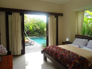 Elegant villa sleep 7 pvte pool walk beach / shops, Sanur