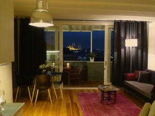 stylish loft + private terrace & views in Galata