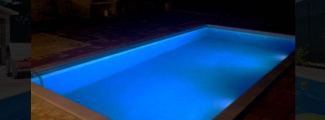 Pool Area during the Night
