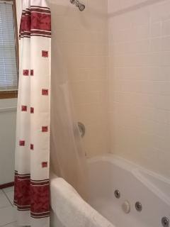 Upper Level Bath w/ Shower & Jacuzzi Tub