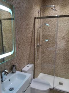 Courtyard Suite Bathroom with generous shower enclosure