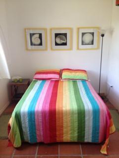 West bedroom, double bed