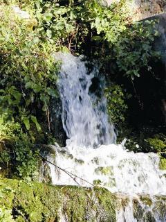 Cascada Jardín Nazarí. Vélez.