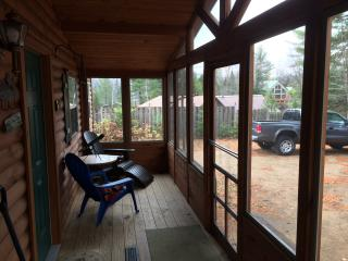 Adirondack Lake front Cabin with beach