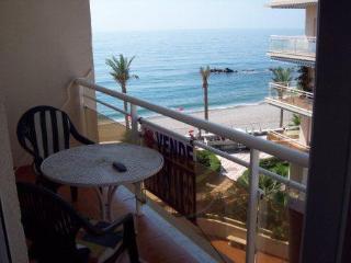 Apartamento primera línea de playa, Castell de Ferro