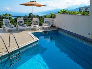 Villa Bellavista - apartment D A4+2 with pool, Opatija