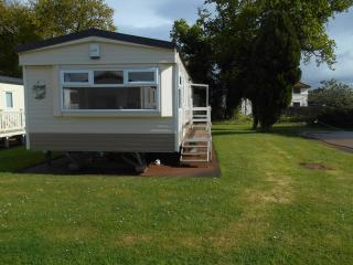 Caravan let Hoburne Blue anchor, Minehead