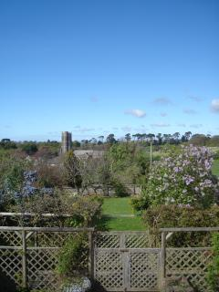View From The Master Bedroom Across The Gardens