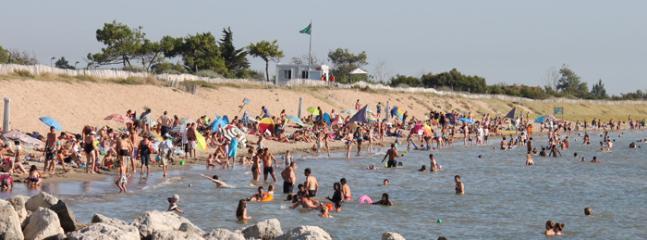 Plage d'Aytré - 650m de l'appartement (Beach of Aytré - 650m from the apartment)