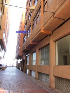 Fachada del edificio, aquí está el apartamento