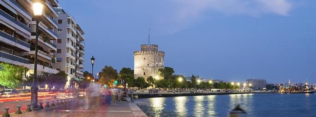 The 'White Tower' at night !