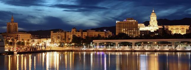 Málaga vista del Muelle Uno