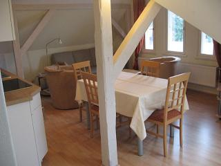 Vacation Apartment in Bad Schwartau - 646 sqft, located in a renovated villa, courtyard available, washer…