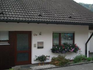 Vacation Apartment in Wolfach - 614 sqft, 1 bedroom, 1 living room / bedroom, max. 5 people (# 7606)