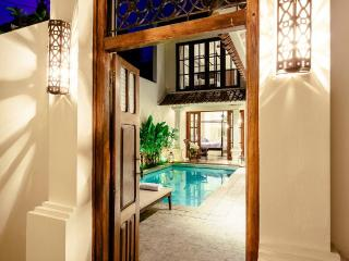 Private secure entry to your villa