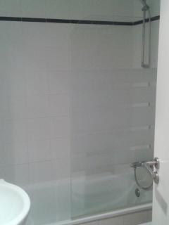 Baño mampara