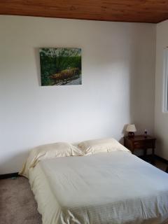 bonne literie et belle chambre
