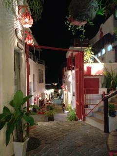 Rua em Pipa.