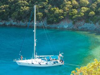 Sail in Greece with skipper, Sami